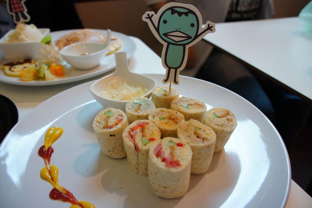 河童的火腿鮪魚三明治壽司卷