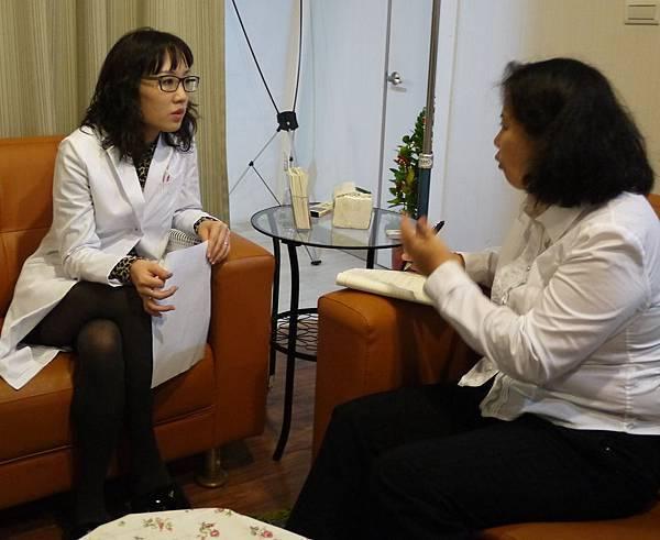 美上美醫學美容莊盈彥醫師接受台灣新生報專訪