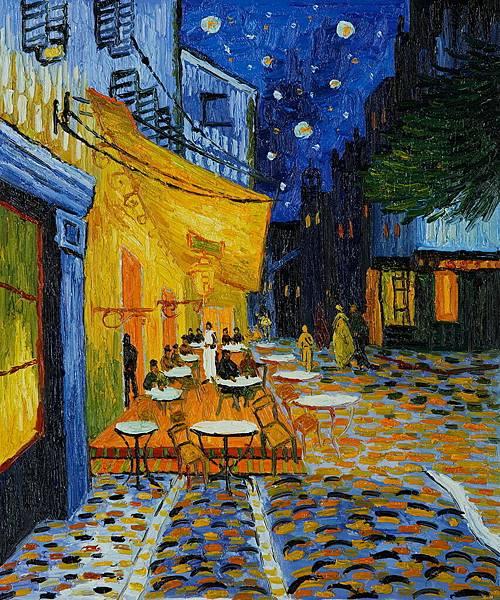 Café Terrace at Night by Vincent van Gogh.jpg