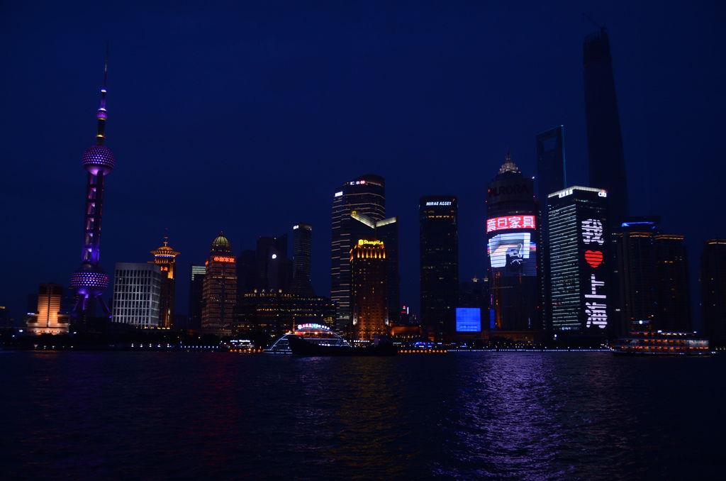 黃浦江夜景