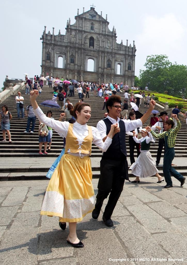 葡萄牙土風舞表演