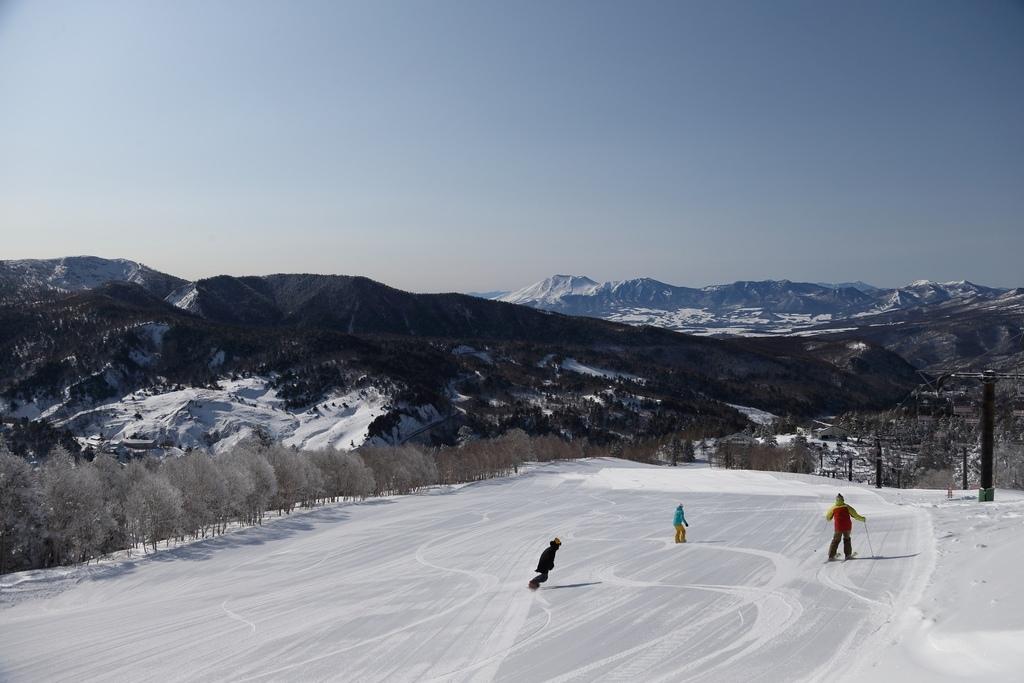 滑雪場全景2