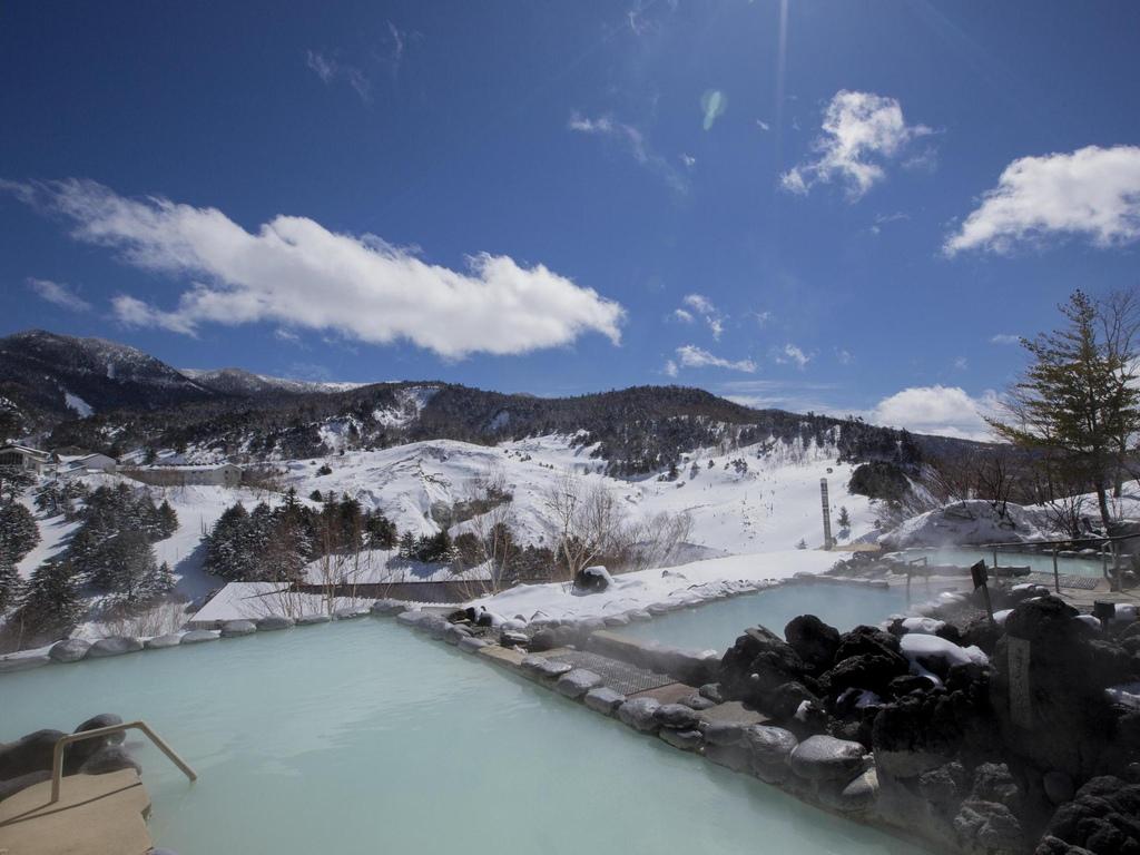 露天溫泉冬景1