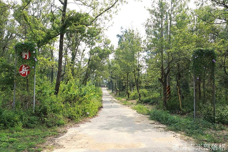 軍營入口的道路