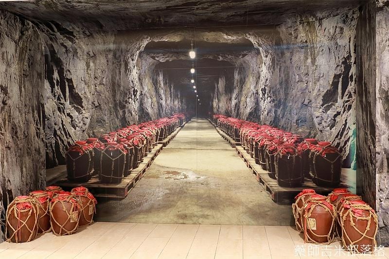 金門有很多坑道可用來儲存酒