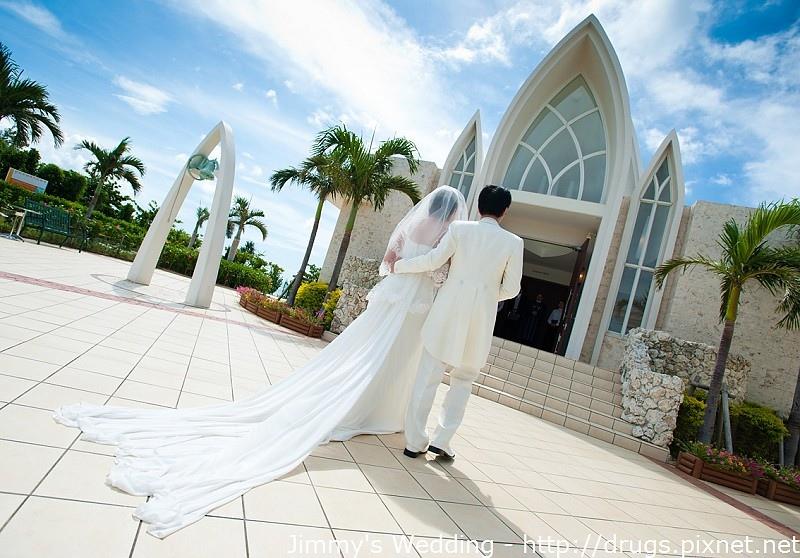 沖繩海外夢幻教堂婚禮儀式