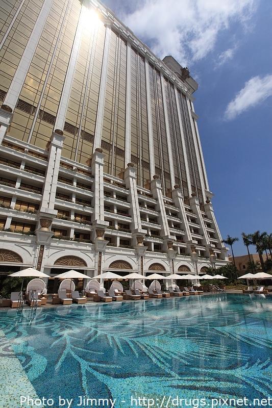 澳門銀河酒店 人造海灘 游泳池 Galaxy Macau Hotel