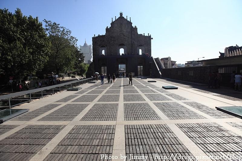 澳門 大三巴 牌坊 聖保羅教堂