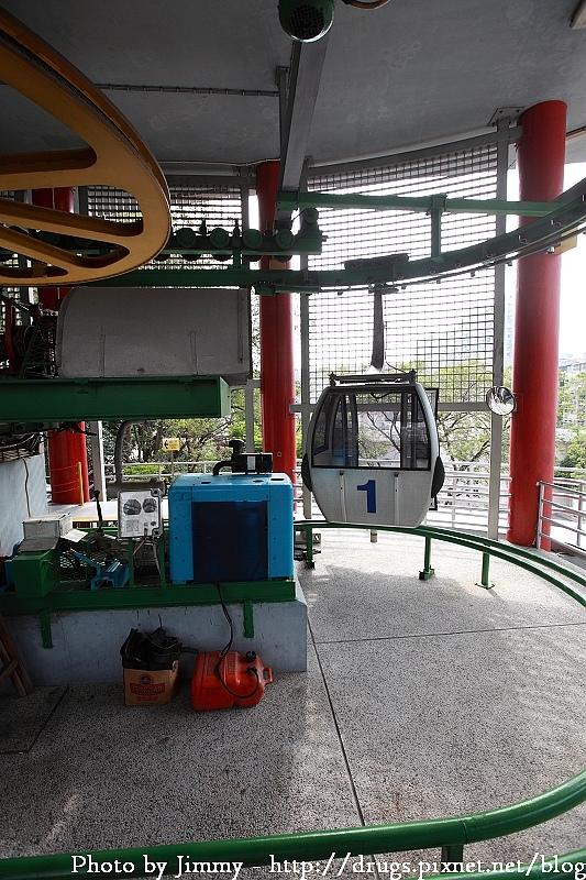 澳門 二龍喉公園 松山纜車 全世界最短的纜車