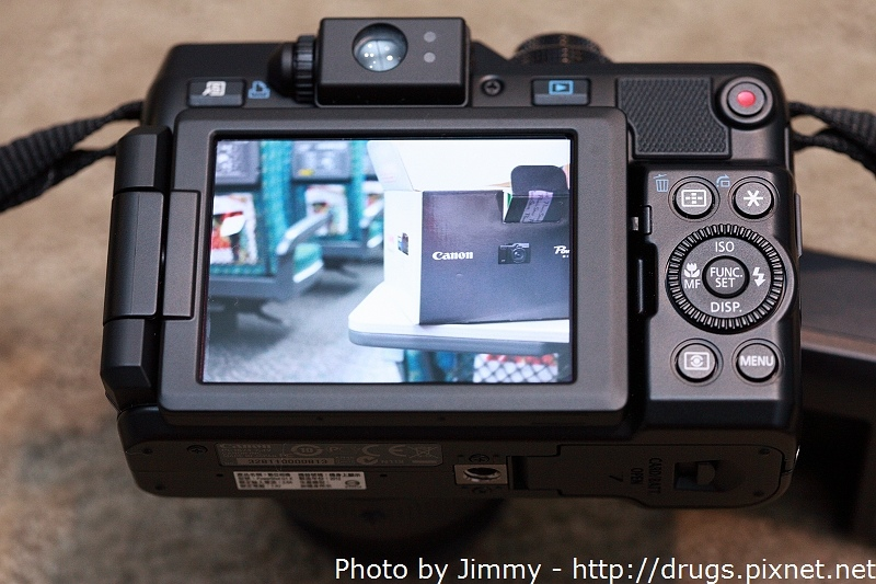 Canon G1X 開箱