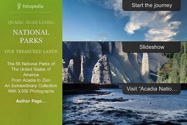 iPhone App fotopedia National Park