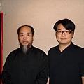 王博士與吳慎老師合影