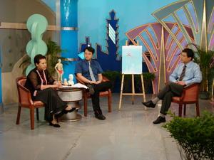 王博士在節目講解負離子