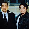 王博士與馬總統合影