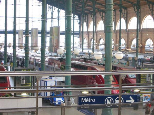 巴黎北站 Gare du Nord