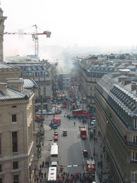 巴黎拉法葉百貨公司頂樓