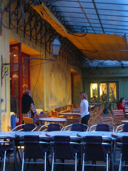 南法亞爾城梵谷咖啡館