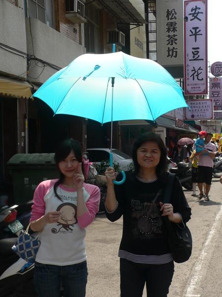 台南有夠熱...