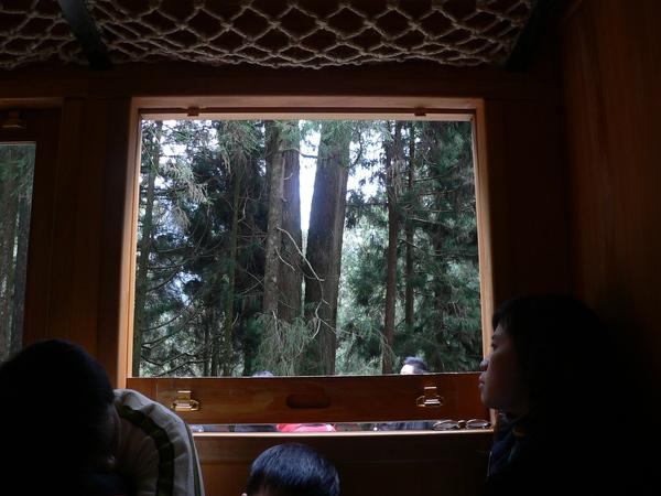 阿里山小火車-窗戶