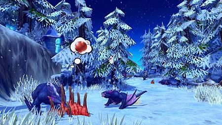01棲息於冰洞雪嶺的凶暴隱龍正在進食,若沒有十足把握,可別打擾牠們。.jpg