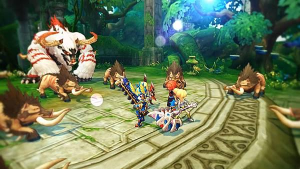 01面對眾多怪物,「狩龍獵人」們依舊毫不畏懼的作戰