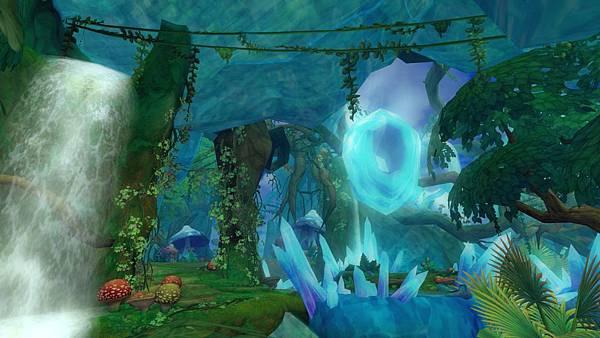 05「等級28,瑪納樹塔」,圍繞瑪納能量生長的巨樹,狩龍獵人須小心來自暗處的襲擊