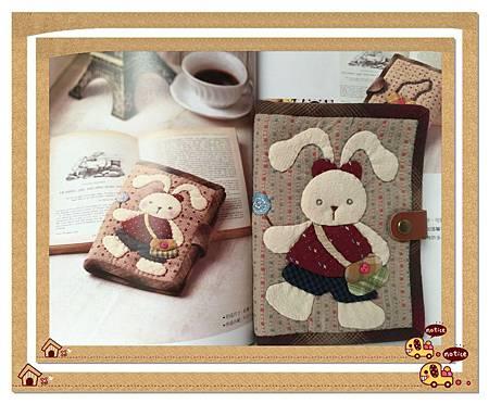 小兔護照夾