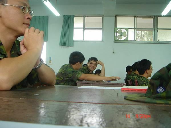 砲校上課的教室