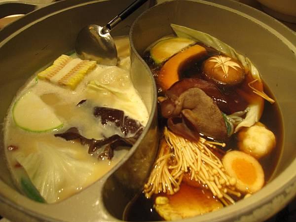 豆乳味噌汁.壽喜燒.JPG