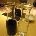 壽喜汁.白開水.JPG