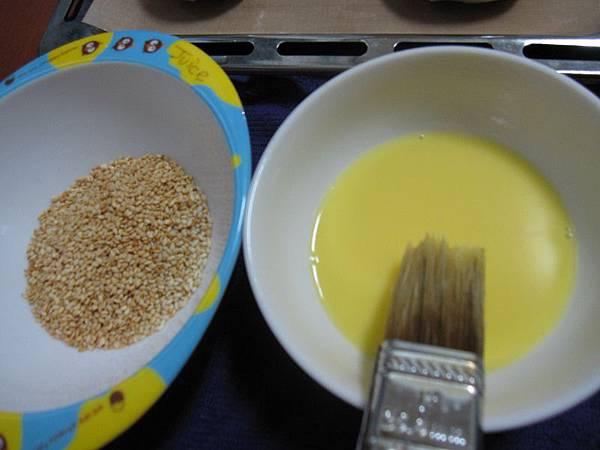 白芝麻vs蛋液.JPG