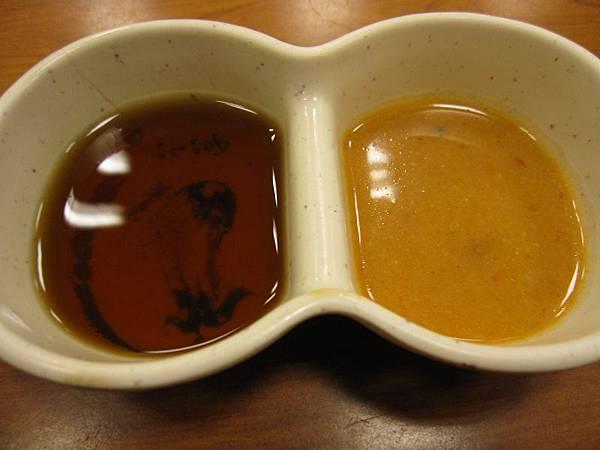 淡醬油.芝麻味噌醬.JPG