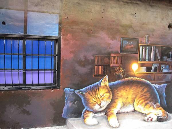屋頂上的貓-頂溪社區 (7).JPG