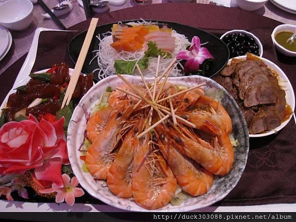 和風海大蝦拼盤4.JPG