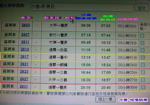 沙鹿-新烏日火車時刻表.jpg