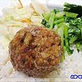 紅燒獅子頭飯 (1)