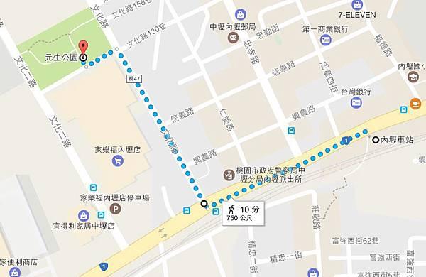 內壢火車站-元生公園.JPG