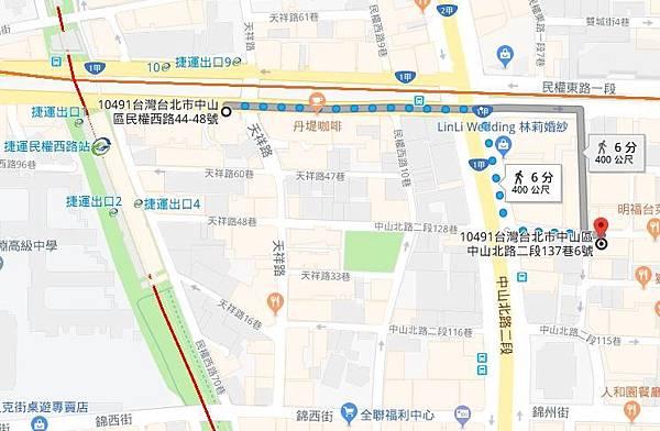 捷運民權西路8號出口.JPG