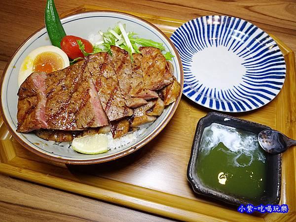 野菜沙朗牛排丼-神田日式串燒食堂  (3).jpg