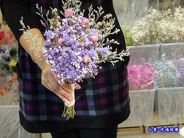 紫星辰新娘捧花-喜歡生活乾燥花店  (2).jpg