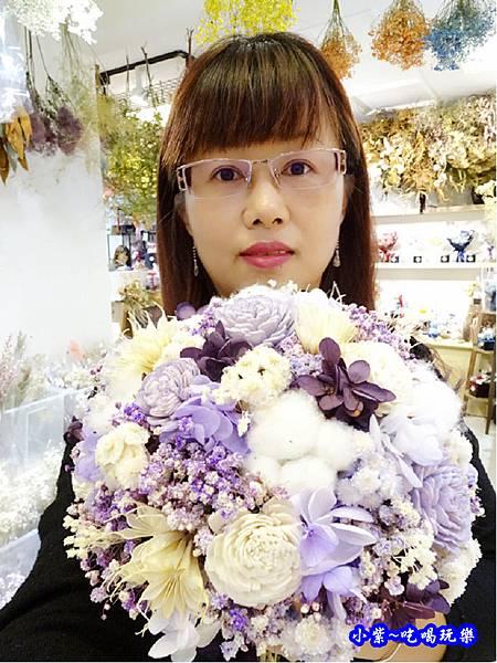 歐式圓型乾燥花捧花-喜歡生活乾燥花店 (3).jpg