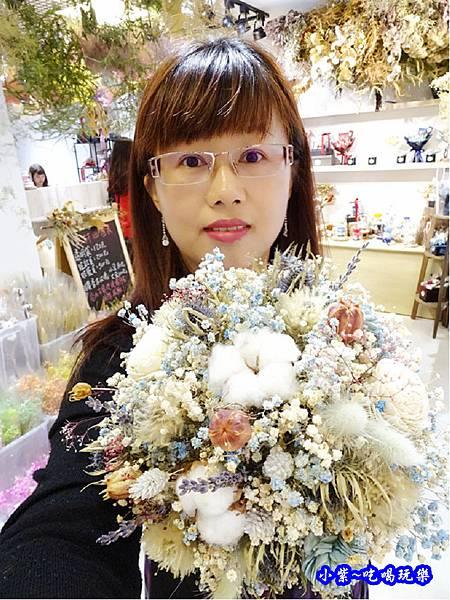 歐式圓型乾燥花捧花-喜歡生活乾燥花店 (8).jpg