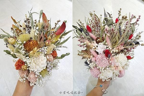 韓式長型手綁乾燥花捧花-喜歡生活乾燥花店 (1).jpg