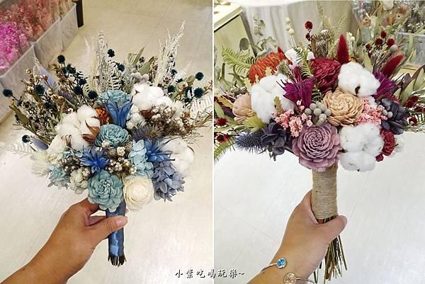 韓式新娘捧花-喜歡生活乾燥花店 (1).jpg
