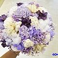 喜歡生活乾燥花店-歐式圓型新娘捧花.jpg
