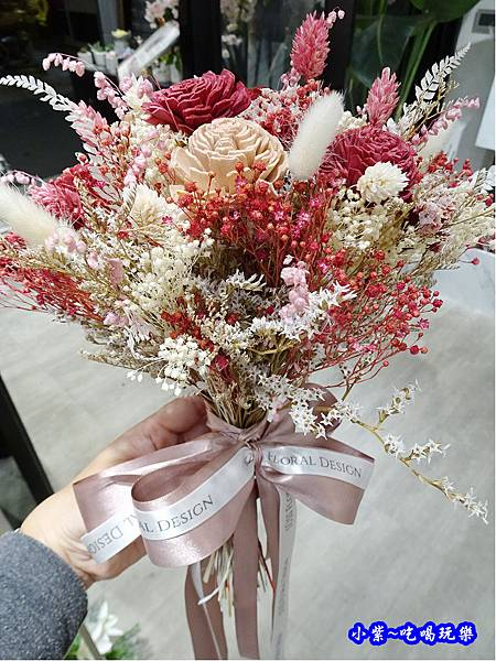 韓式新娘捧花-敘思花藝中山店 (4).jpg