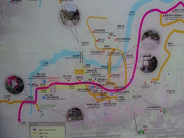 谷關風景區住宿飯店分佈圖.JPG