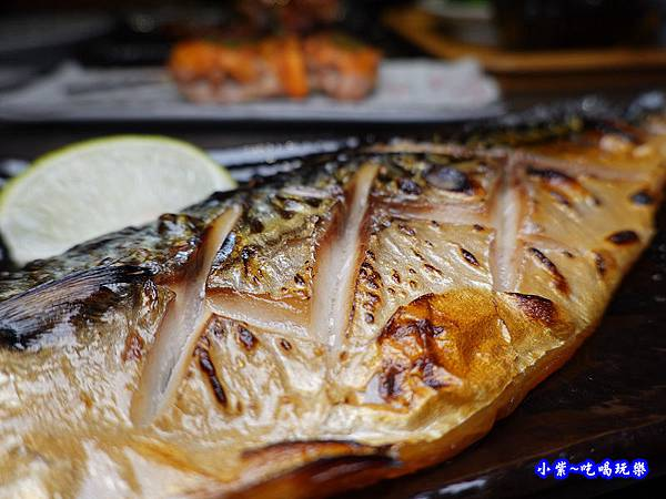 炙燒鯖魚-大河屋居酒屋 (4).jpg