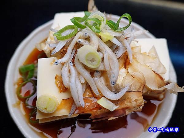 冷奴豆腐佐魩仔魚-美味子家庭和風料理  (2).jpg