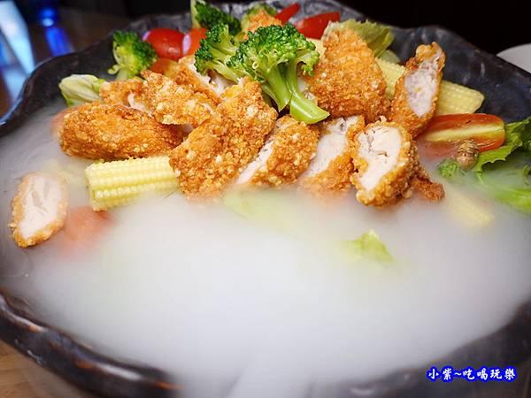 鮮蔬雞柳沙拉芝麻醬-端陽邀月桃園店  (2).jpg